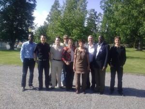 Seclab Team in Örebro ESC2011
