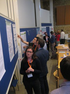 Poster session with interesting discussions